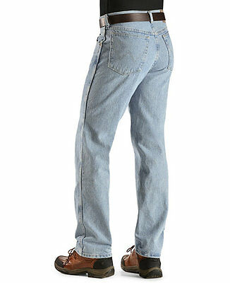 WRANGLER Mens JEANS 60 X 34 - FITS OVER BOOTS - Rough Wash - NWT's - Regular Fit
