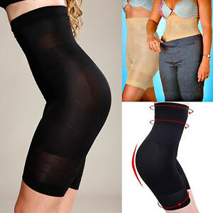 Damen-Sport-Hose-Fett-Verbrennung-Stretch-Unterwaesche-Bodysuit-Schlank-Shapewear