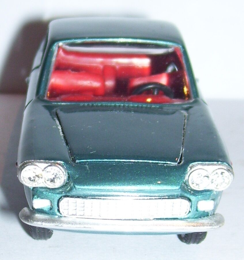 RARE OLD POLITOYS M FIAT SIATA 1500 1500 1500 COUPE blue METAL 1965 REF 502 1 43 d6ed3e