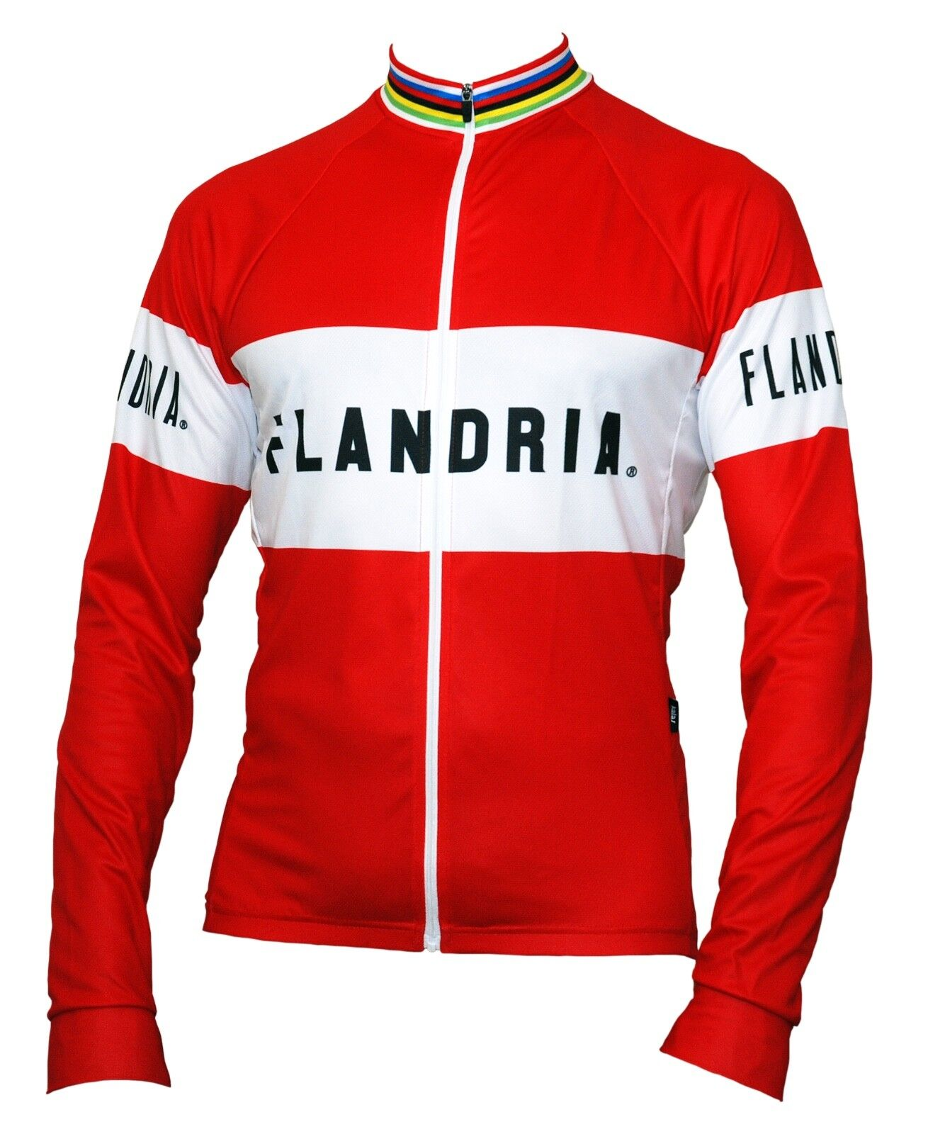 Genuine FLANDRIA Long Sleeve  Cycling Jersey - Retro Design - New  store sale outlet