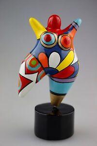 Hommage An Niki De Saint Phalle Skulptur Figur Dicke Frau Molly