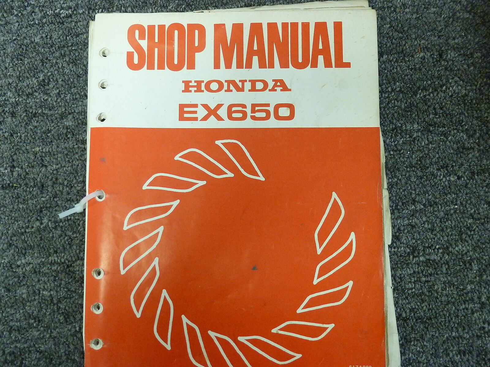 honda ex650 650 generator service repair shop manual ebay rh ebay com honda ex650 service manual honda ex650 service manual