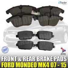 Ford Mondeo MK4 Brake Pads TDCi  2007- 2015 Front & Rear Pad Set Mark 4 MK IV