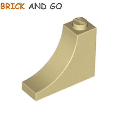 Brick Arch 1x5x4 Bow New New 2 x lego 14395 Brick Bow Arche Beige, Tan
