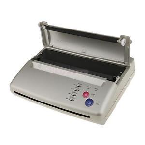 Tattoo stencil maker transfer machine flash thermal copier for Tattoo stencil copier