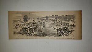 Battle of Blue Ridge Pass Maryland Infantry Charge 1884 ...