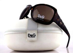 RARE NEW Authentic D&G Dolce & Gabbana Dark Havana Sunglasses DG 3021 502/73 125