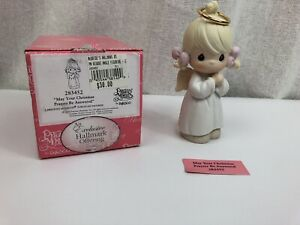 NIB Precious Moments Figurine # 283452~May Your Christmas Prayers Be Answered