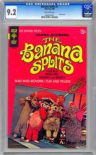 BANANA SPLITS #1 CGC 9.2 HANNA-BARBERA 1960's TV SHOW PHOTO COVER GOLD KEY 1969