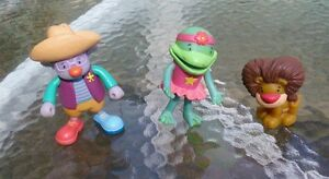 Disneys Jo's Circus rubber bendable Pop Rocket figures figurines cake toppers
