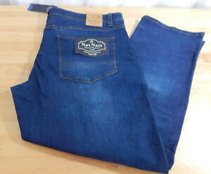 NWT-Men-039-s-Nat-Nast-5-Pocket-Stretch-Straight-Fit-Jeans-w-Comfort-Waistband