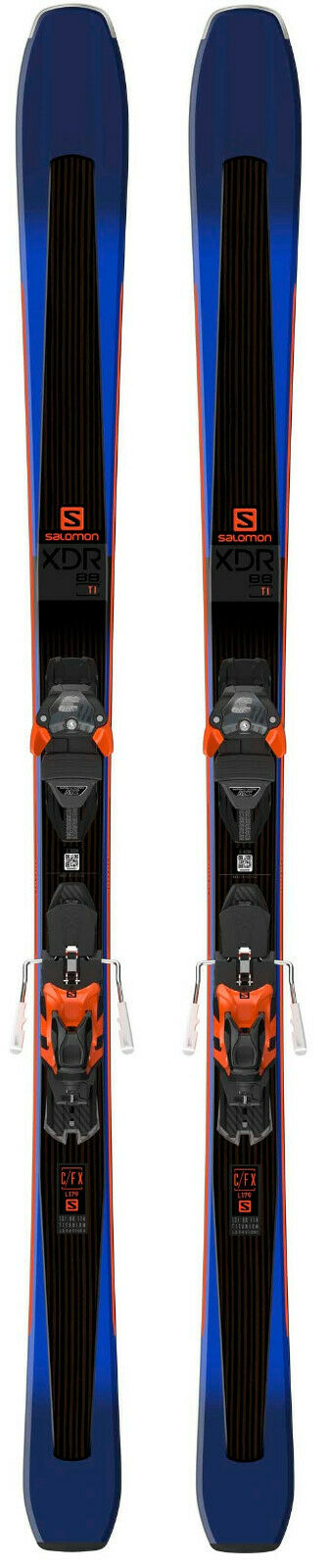 2019 Salomon XDR 88 snow skis w-bindings 179cm (CLEARANCE) NEW