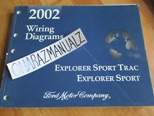 2002 Ford Explorer Sport Sport Trac Wiring Diagrams Electrical Service Manual Ebay