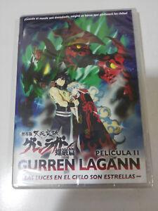 GURREN-LAGAN-PELICULA-II-LAS-LUCES-EN-EL-CIELO-SON-ESTRELLAS-DVD-NEW-NUEVO