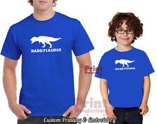 Daddysaurus T-shirt, FATHER & SON 2 T-SHIRTS, fathers day, dad, daddy, dinosaur,