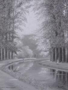 Roger-Zweig-Viennay-1903-1997-Der-Kanal-Mehun-Jhd-Yevre-Vierzon-Cher-Berry