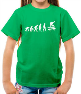 Kids Printed T-Shirt The evolution of parkour