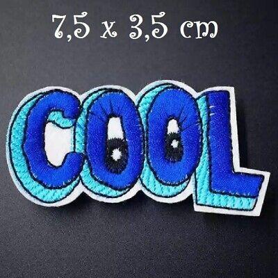 ÉCUSSON PATCH BICHE FAON COEUR Bleu ** 6,5 x 6,5 cm ** Applique thermocollante