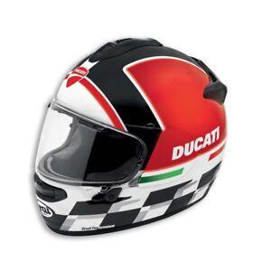 Ducati-Checkmate-Motorcycle-Helmet-98104058-Arai-DT-X