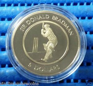 1996-Australia-5-Sir-Donald-Bradman-Commemorative-Proof-Coin