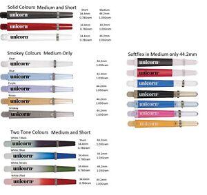 Unicorn Gripper 3 Dart Shafts Stems choose your color /& size