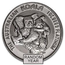 1 oz Platinum Australian Koala Coin - Random Year - SKU #54969