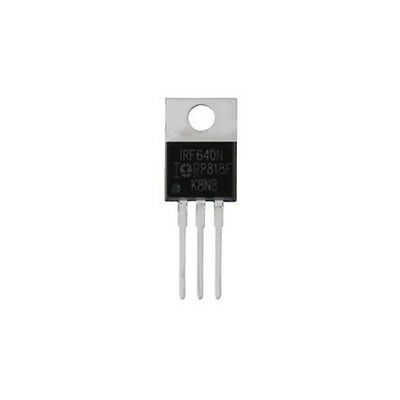 5pcs IRF640N TO-220 IRF640 Power MOSFET
