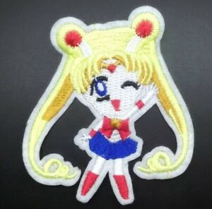 Sailor Mercury from Sailor Moon IronSew on Patch