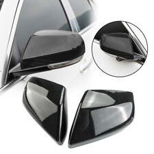 ABS Chrome Side Rearview Mirror Cover Trim Strip 2PCS For Cadillac ATS 2014-2018