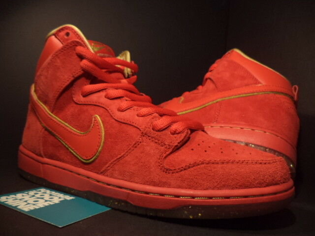 Nike Dunk High Premium SB CHINESE NEW YEAR CNY YEAR OF THE HORSE YOTH RED NEW 10 Cheap women's shoes women's shoes