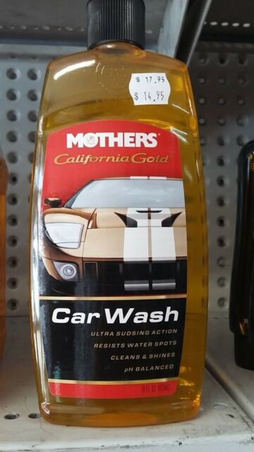 MOTHERS - California Gold Car Wash (473mL) #05600