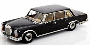 MB Mercedes Benz 600 SWB - W100 - 1963 - black - KK 1:18