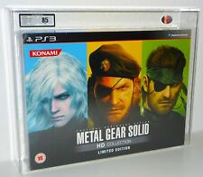 Metal Gear Solid HD Collection Limited Edition Playstation 3 SEALED NEW UKG 85