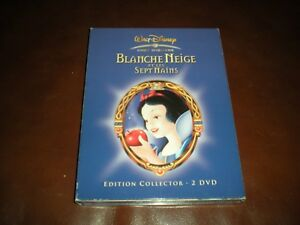 DVD-DISNEY-BLANCHE-NEIGE-ET-LES-SEPT-NAINS-EDITION-COLLECTOR-2-DVD
