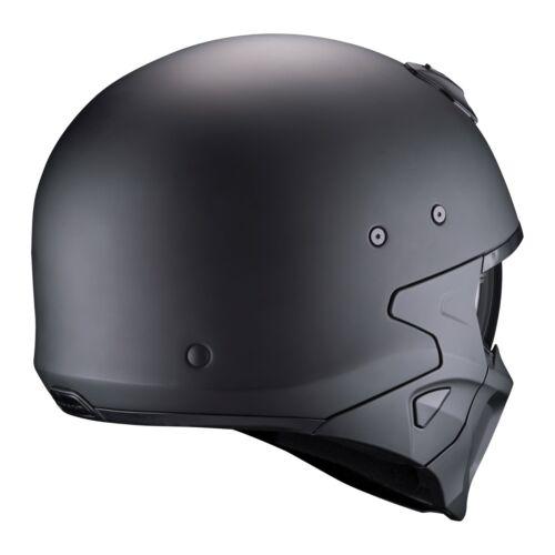 Casco Helmet SCORPION Scomponibile COVERT-X SOLID MAT BLACK NERO Taglia M