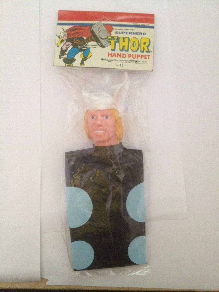 Thor Hand Puppet 1979 imperial