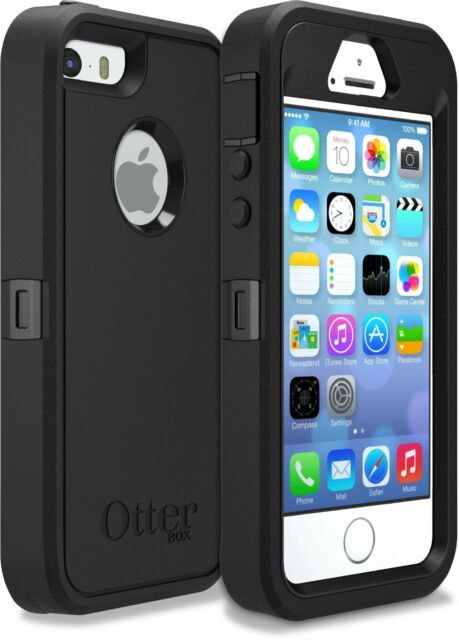 0c6d09668f3 OTTERBOX Cell Phone Case Polycarbonate Rubber Silicone Black 77 ...