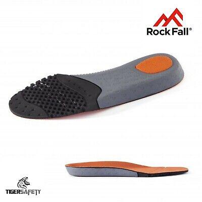 Rock Fall Activ-step Anti-fatigue Comfort Plantare Sottopiede Per Scarpe & Stivali Lavoro-mostra Il Titolo Originale