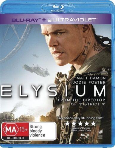 1 of 1 - Elysium (Blu-ray, 2013)