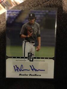 Van Horn Auto >> Details About 2013 Leaf Perfect Game Hunter Van Horn Auto A Hvh Autograph Baseball