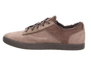 Image is loading UGG-Australia-Men-Bueller-Chocolate-Washed-Carpa-leather-
