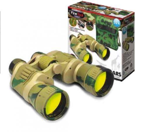 Caso de prismáticos de aumento 20X Estuche construido en caompass