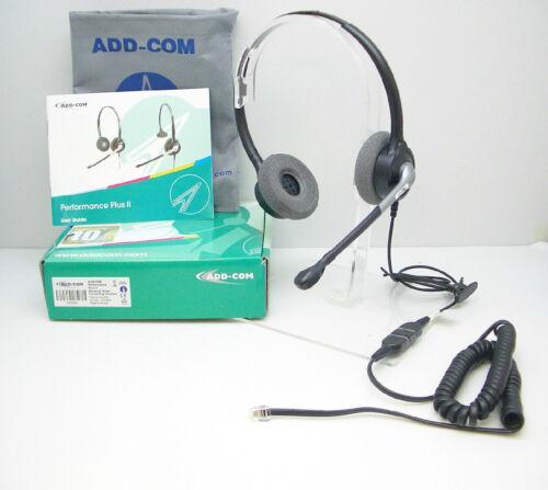 ADD880-01 Headset for Avaya Mitel Polycom Nortel Toshiba Hybrex Aspire Aastra GE