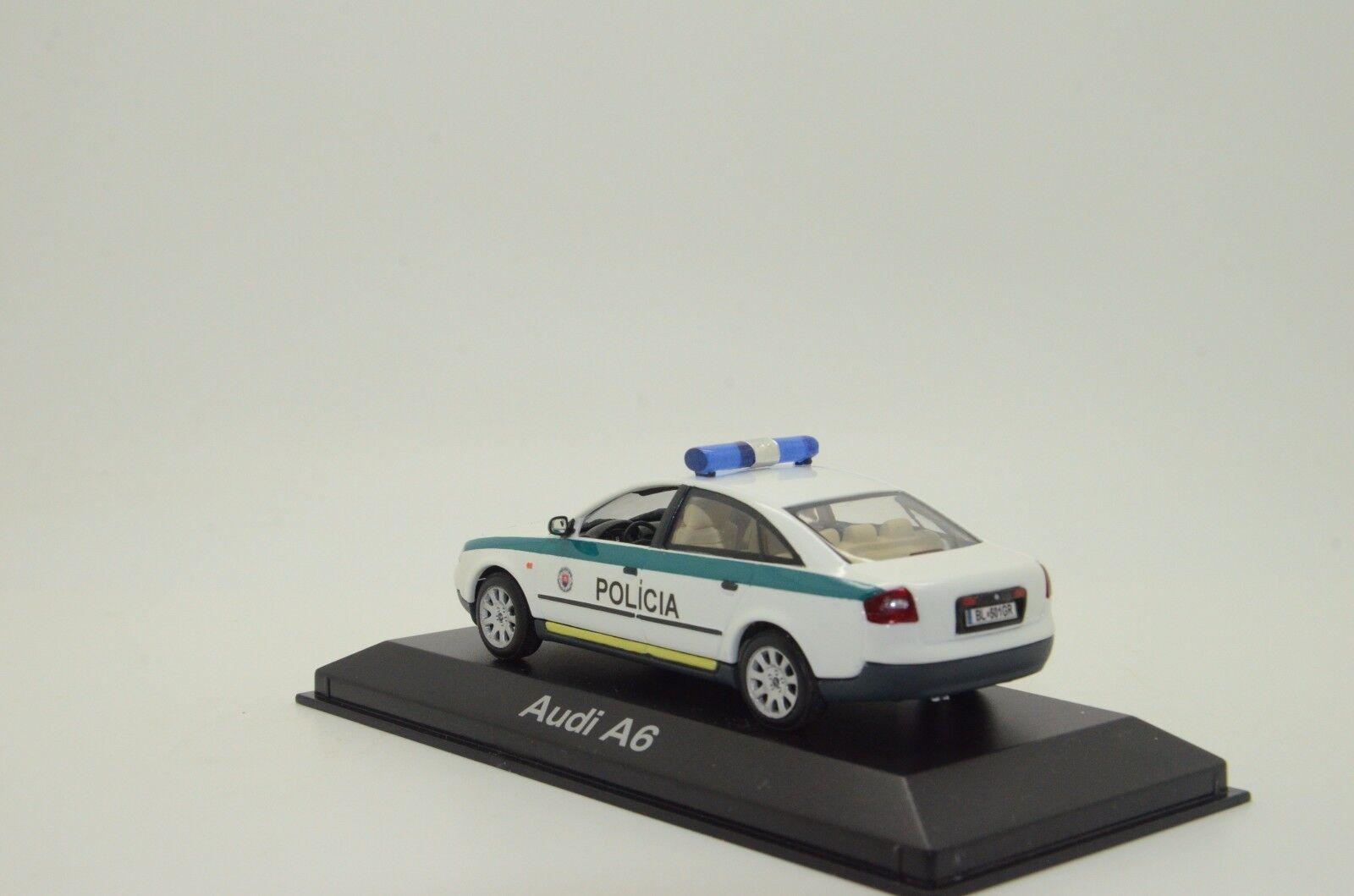 rara    Audi A6 POLICIA policía Eslovaquia Hecho a Medida 1 43 df73c9