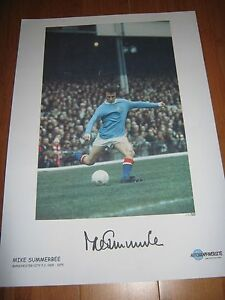 MIKE SUMMERBEE MANCHESTER CITY FC HAND SIGNED LTD EDITION PRINT OF 50 16X12034 - <span itemprop=availableAtOrFrom>BIRMINGHAM, West Midlands, United Kingdom</span> - MIKE SUMMERBEE MANCHESTER CITY FC HAND SIGNED LTD EDITION PRINT OF 50 16X12034 - BIRMINGHAM, West Midlands, United Kingdom