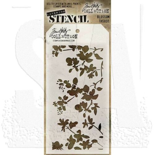 Multiple Stencils Listing New Stampers Anonymous Tim Holtz Layering Stencil