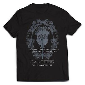 Game Of Thrones Swing The Sword T-Shirt Unisex Size Taille L PHM
