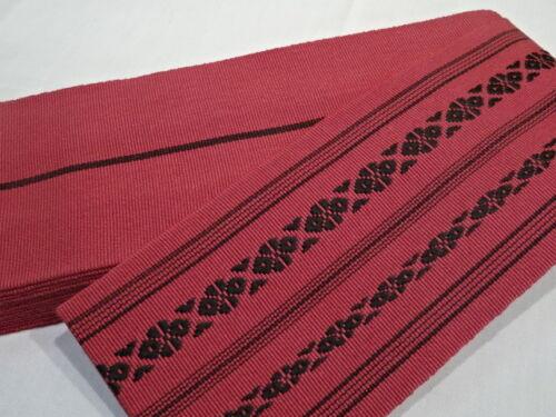 Japanese Men/'s Traditional KAKU OBI RED Belt Made in JAPAN