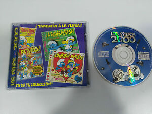 LOS-PITUFOS-2000-CD-ARCADE-1999-SPANISH-EDITION