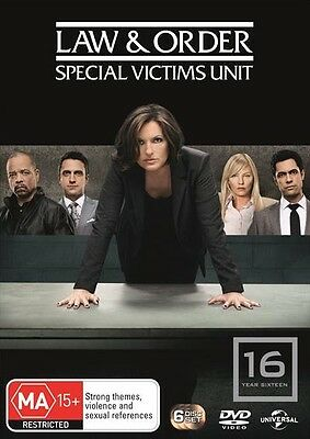 Law And Order SVU : Season 16 : NEW DVD